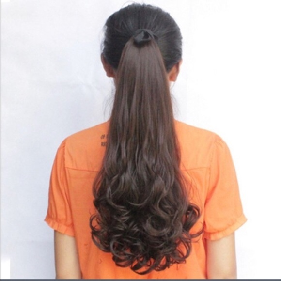 Long Curly Ponytail Hair Extensions Poshmark